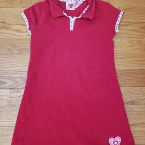 Other - Red Heart Dress Sz 4T